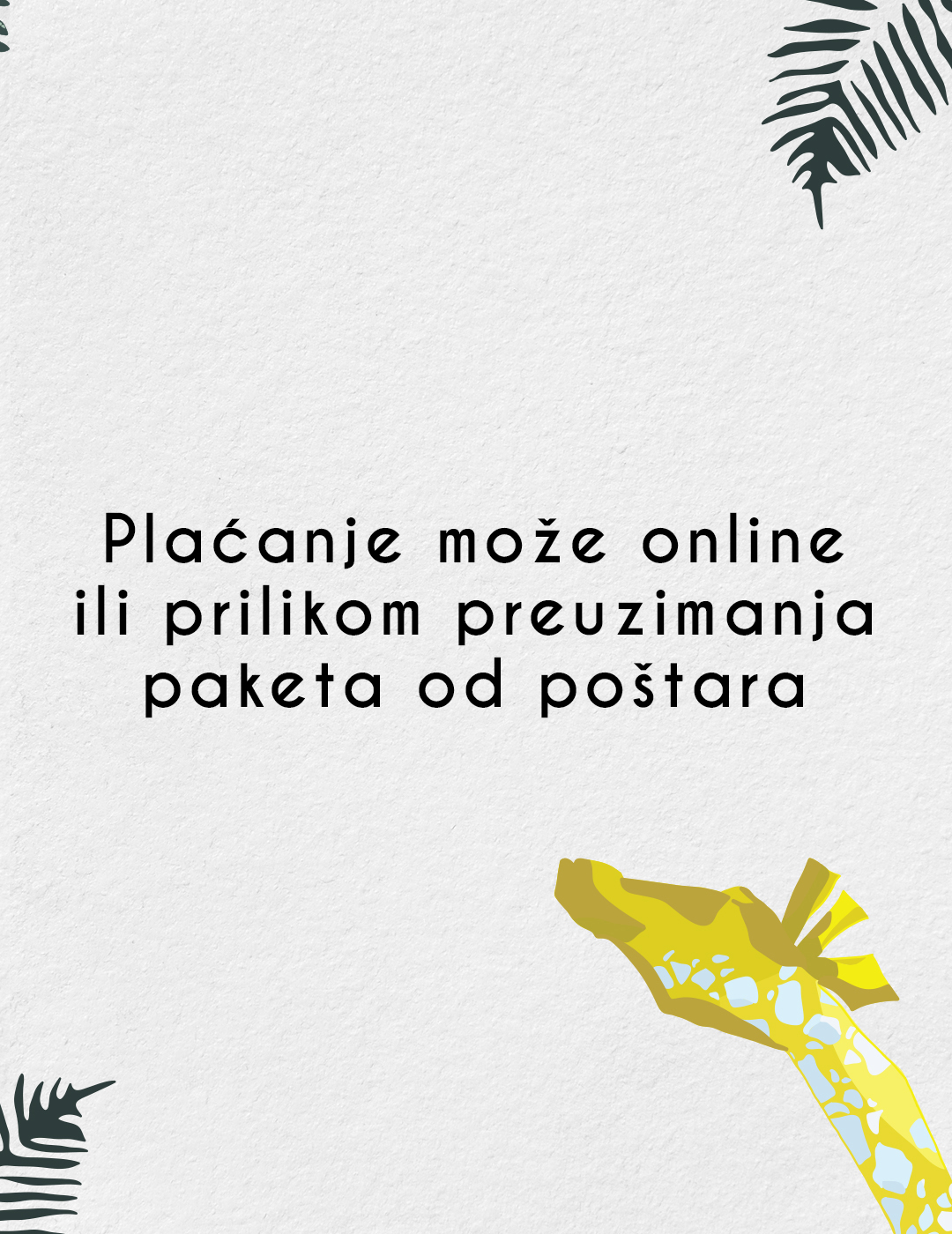 Happy Giraffe benefiti placanje online pouzece