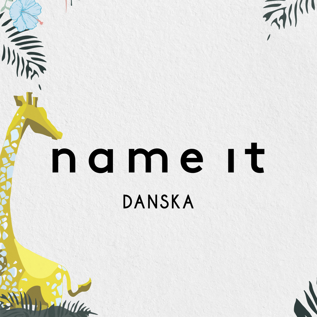Happy Giraffe brend name it danska