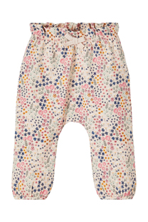 Happy Giraffe NAME IT - Pantalone sa cvetnim dezenom 102719